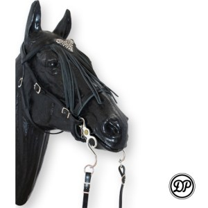 "Soft Feel Baroque Headstall ""Espera"" Image"