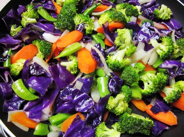 Colorful Vegetable Stir-fry - Comfort Food Infusion