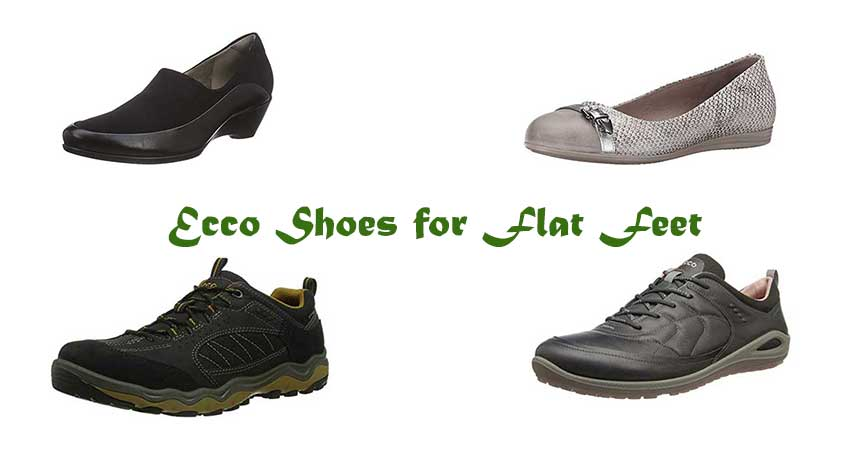 Ecco Shoes for Flat Feet - Are They the