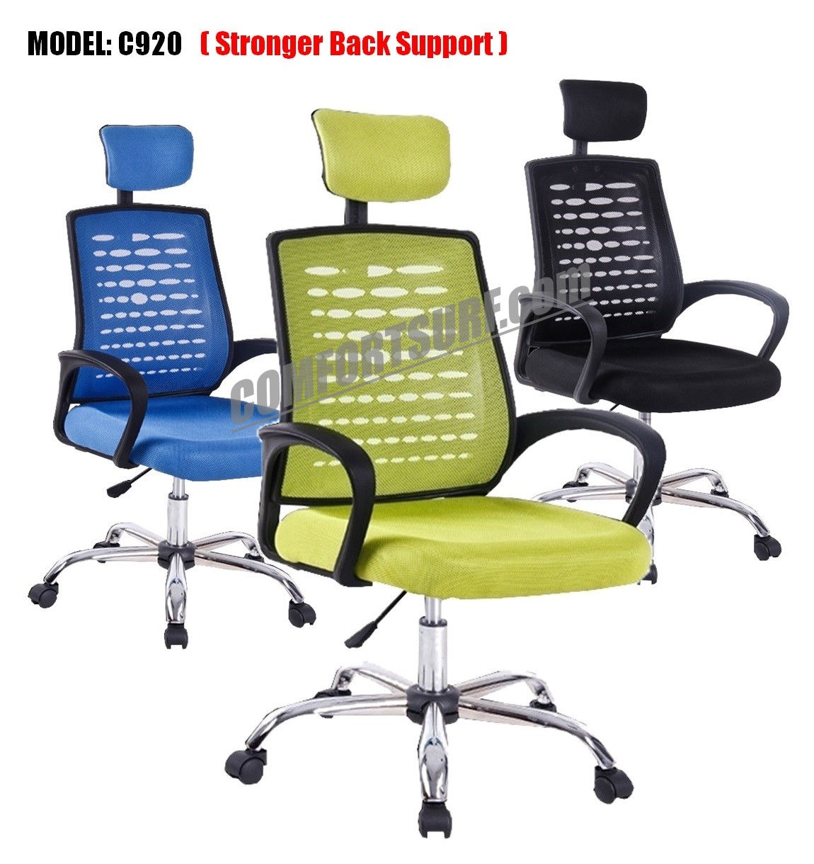 seat height chair indoor lounge chairs target c920 adjustable ergonomic large swivel mesh
