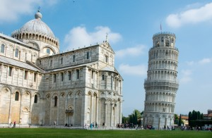 Famous leaning tower of Pisa, Italy - Italy Tours from Toronto