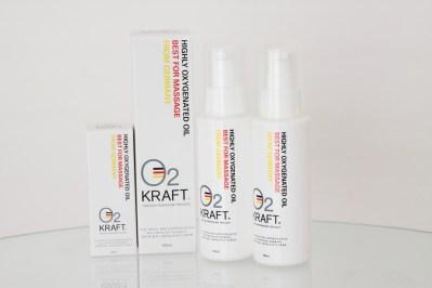 高濃度酸素オイル O2KRAFT(オーツークラフト)