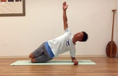 サーフィンでのバランス感覚を高める体幹トレーニング2