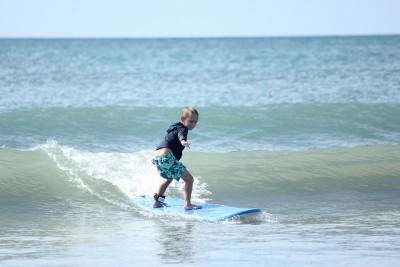 サーフィンでのバランス感覚を高めるトレーニング