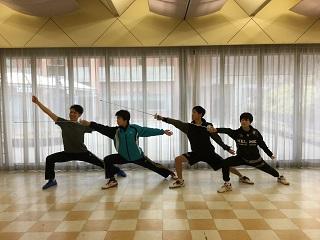 フェンシングトレーニング in 長野