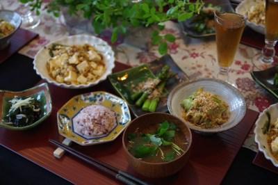 管理栄養士のシャキシャキ麻婆豆腐 500kcalランチ