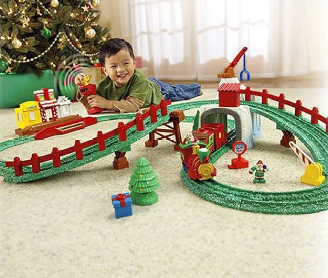 Fisher Price Geotrax North Pole Express Christmas Train Set
