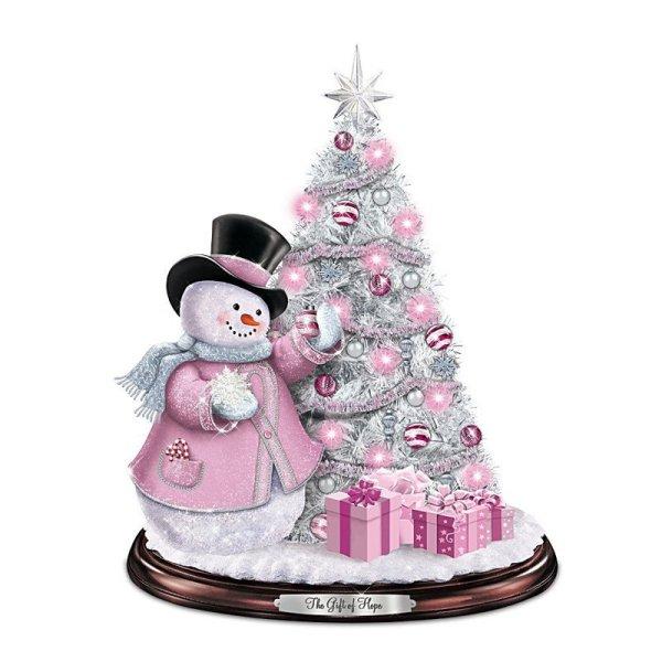Beautiful Light Pink Christmas Ornaments