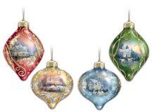 Thomas Kinkade Christmas Tree Ornaments • Comfy Christmas