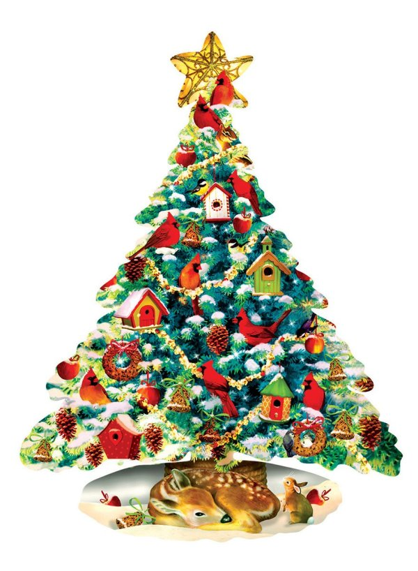 Christmas Shaped Jigsaw Puzzles Perfect 2017