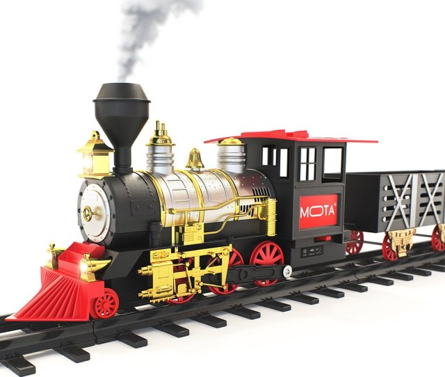 Santa Holiday Classic Chistmas Train Sets For Under The Tree
