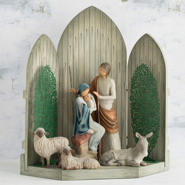 Willow Tree Christmas Story Nativity Set Comfy