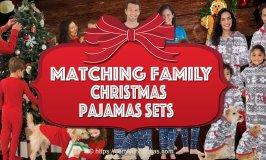 Matching Family Christmas Pajamas Sets