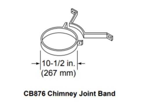 Majestic CB876 Chimney Joint Band