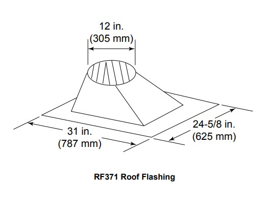 Majestic RF371 Roof Flashing