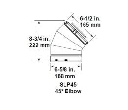 Majestic SLP45 45° Elbow
