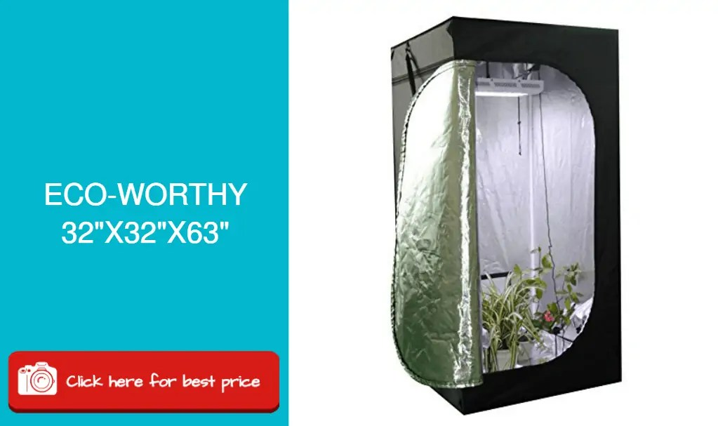 ECO-WORTHY hydroponic grow tent