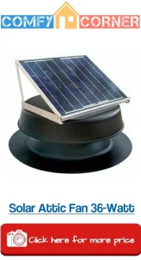 Solar Attic Fan 36Watt Review