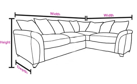 duck feather corner sofa fabric cleaning solution yorker u shape leather comfyland upholstery fill foam
