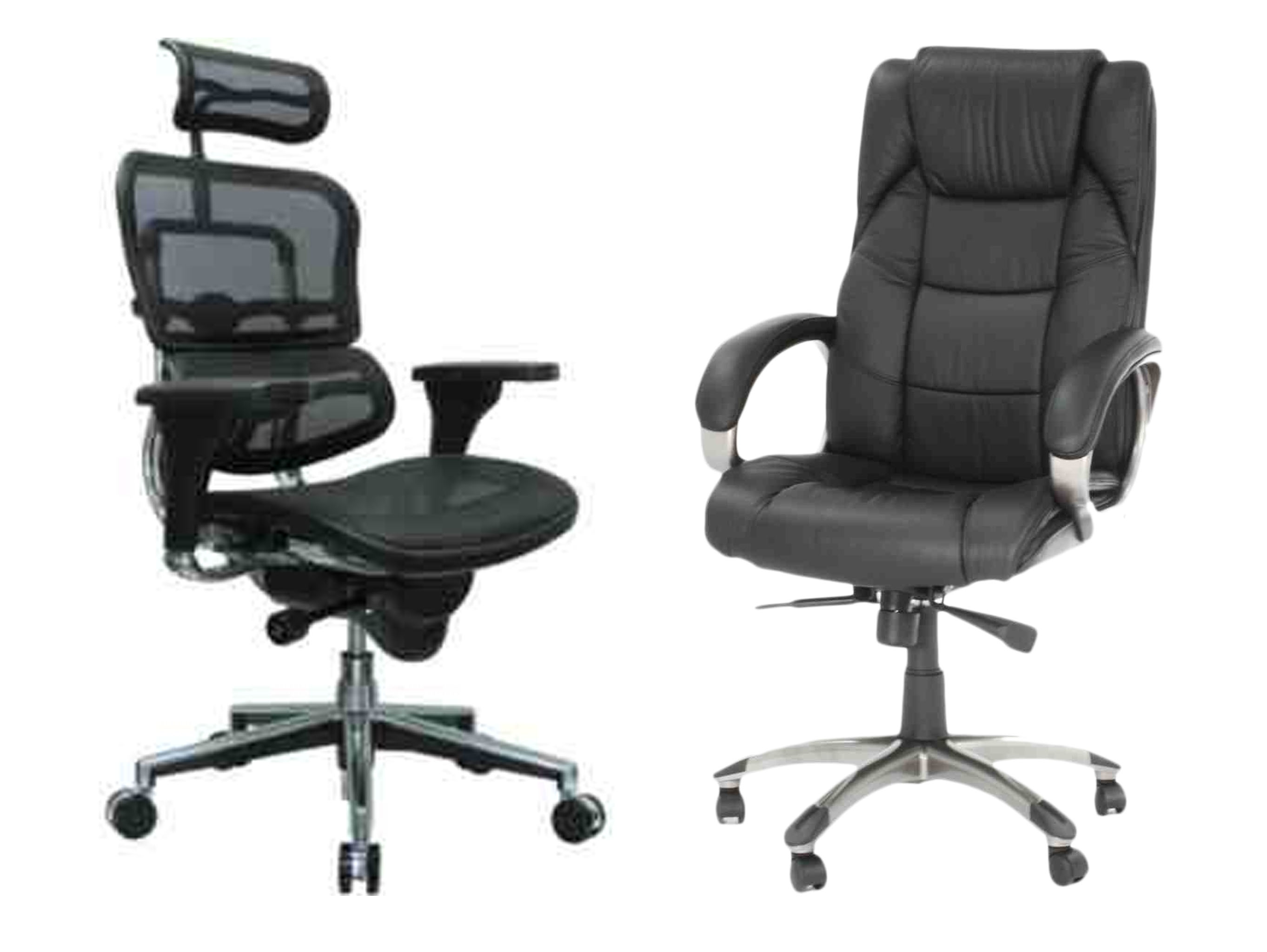 Leather Office Chairs Mesh Vs Leather Chair Which One Is Right For You Comfy