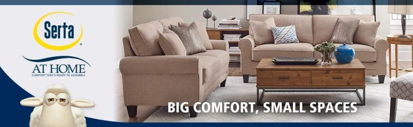 Serta is one of the stylish sofa brands