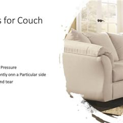 How Do I Repair A Tear In Leather Sofa Off White Cover To Fix Sagging Couch : Tips Restuffing Cushions