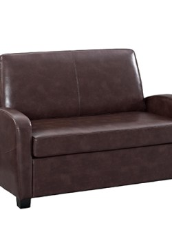 mainstay loveseat sofa brown
