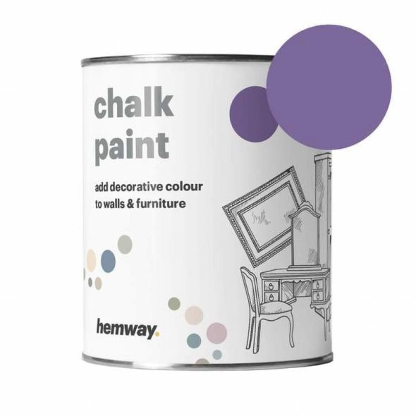 hemway chalk paint can