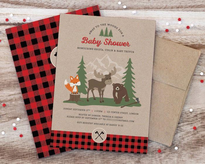 Woodland-Animal-Lumberjack-Baby-Shower-via-Karas-Party-Ideas-KarasPartyIdeas.com1_