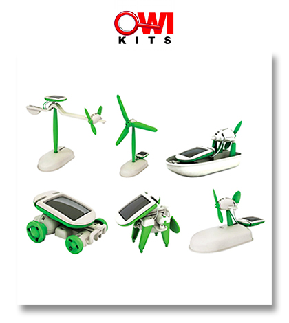6-in-1 Educational Solar Kit
