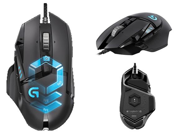 Mouse-Logitech-Logitech G502 Proteus Spectrum RGB Tunable Gaming Mouse.png