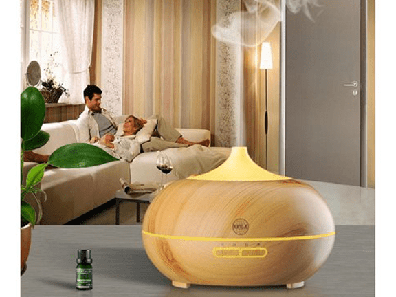 Oil Diffuser-VicTsing-VicTsing 300ml Essential Oil Diffuser New Wood Grain with 7-Color LED Lights.png
