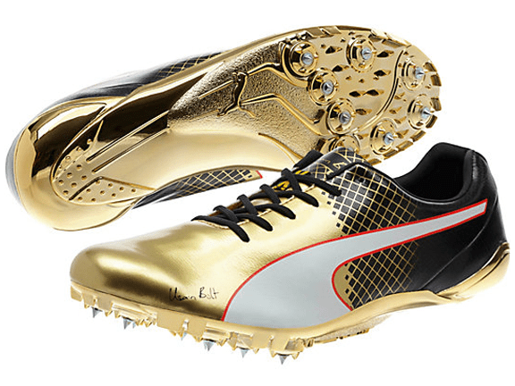 gold puma track spikes - 51% OFF