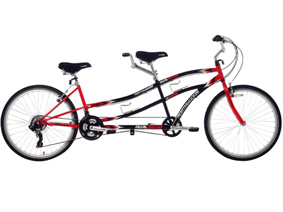 Bike-Tandem Bike-Northwoods Tandem Bike 21-Speed Dual Drive.png