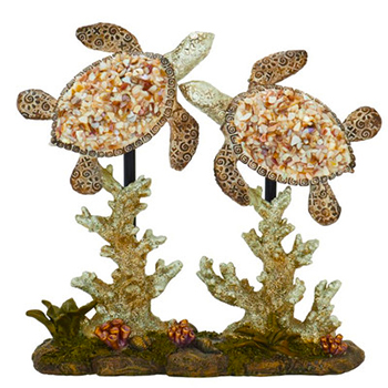 Polystone Double Sea Turtle Sculpture by Cole & Grey.jpg