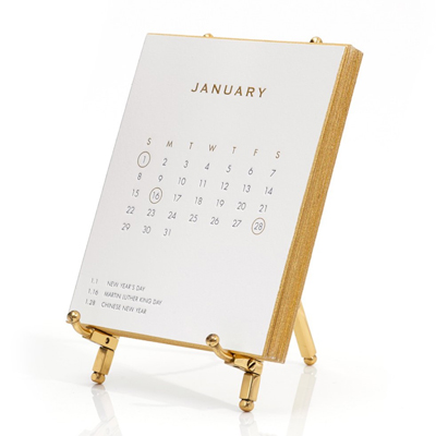 2017 Luxury Desk Calendar