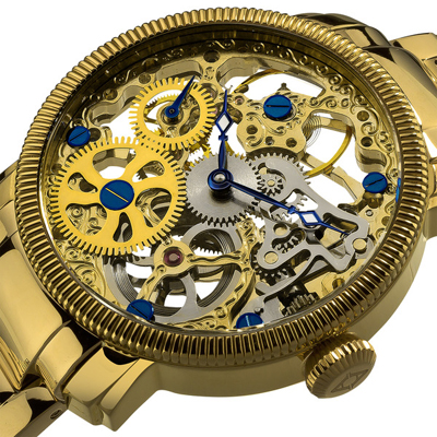 akribos-xxiv-mens-stainless-mechanical-skeleton-gold-tone-bracelet-watch