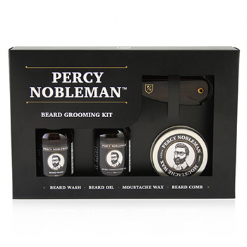Pomades | Percy Nobleman Beard Grooming Kit - $40.00