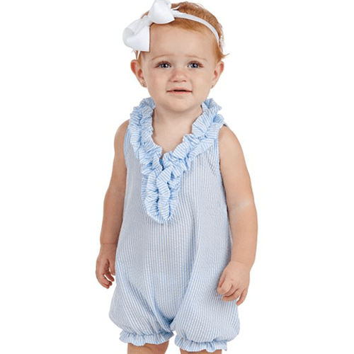 Mud Pie | Mini Seersucker Romper