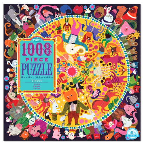 Eeboo-Circus 1000 Piece Puzzle