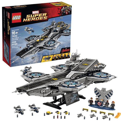 Lego-The SHIELD Helicarrier