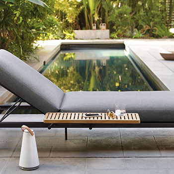 Adjustable chaise by Design Within Reach