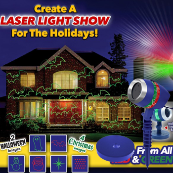 Bulbhead-Star Shower Laser Magic