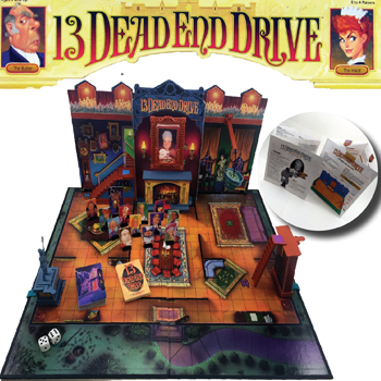 Milton Bradley-13 Dead End Drive Board Game