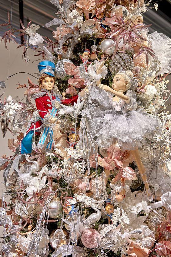 fairy nutcracker ballet Christmas tree