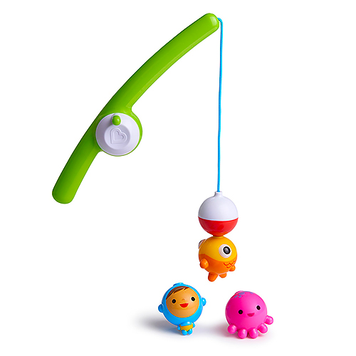 Fishing bath toy