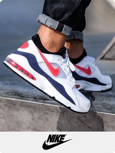 Air Max, Air Max 93, running shoes, sports shoes, white shoes for men