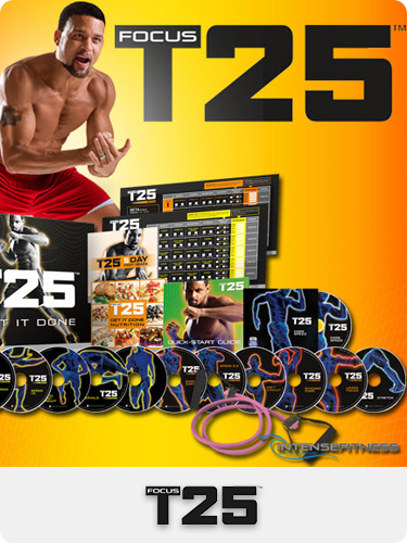 workout videos, T25, 25 minute workout, Shaun T