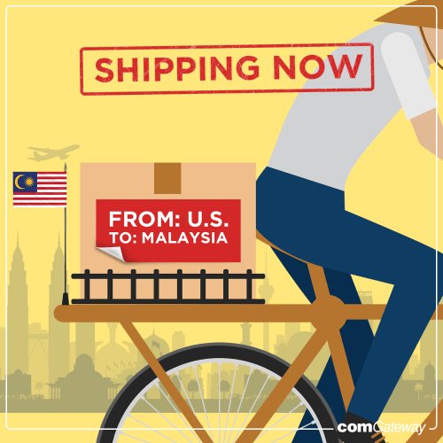 Shipping from US to Malaysia