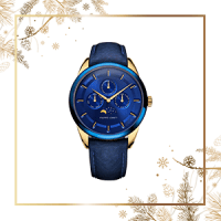 Filippo Loreti Venice Moonphase Blue Gold